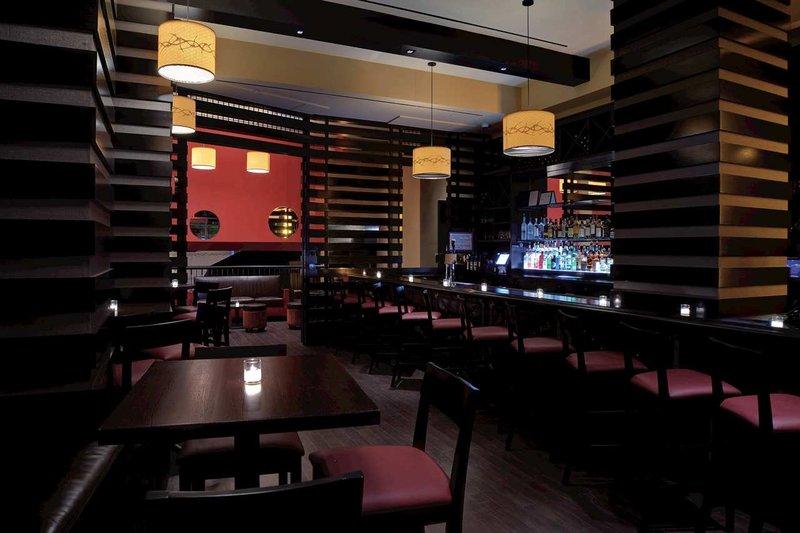 Hilton New York Fashion District Bar/salónek