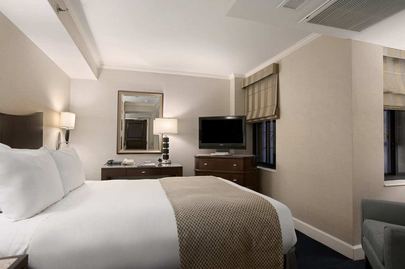 Hilton Manhattan East Huonenäkymä