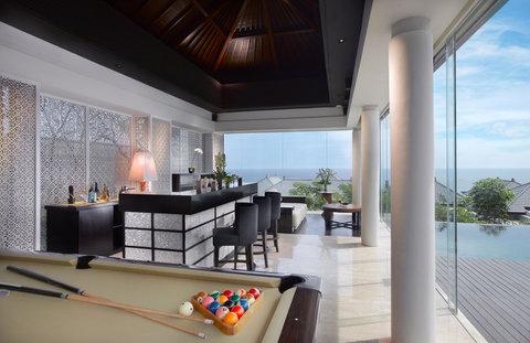 بانيان تري أونغاسان - Presidential Villa Recreation Room