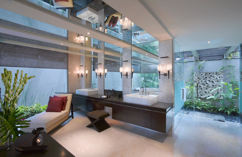بانيان تري أونغاسان - Presidential Villa Bathroom
