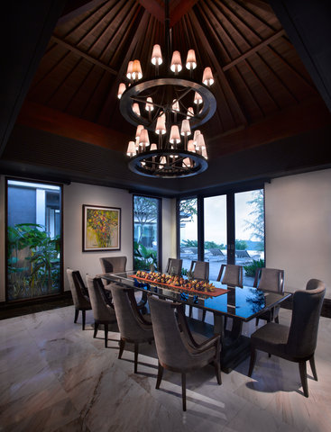 بانيان تري أونغاسان - Presidential Villa Dinning Room