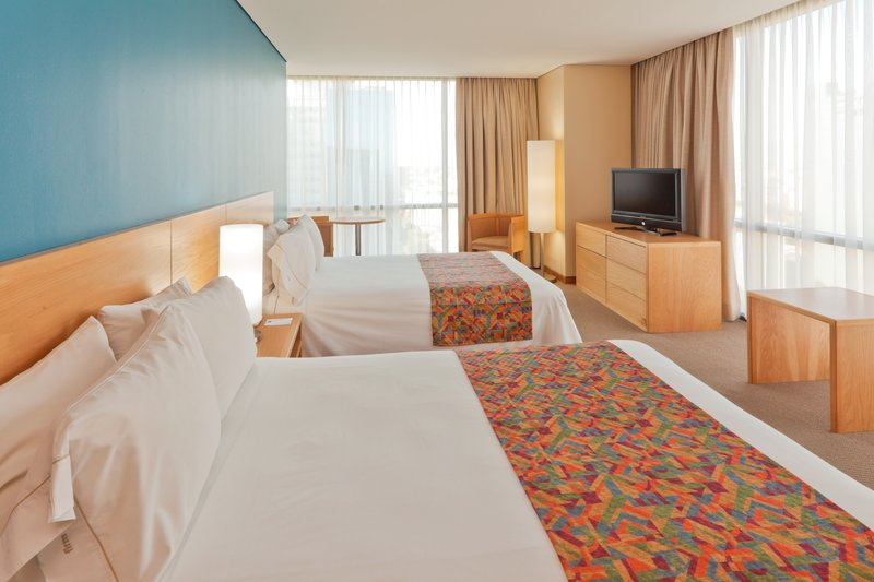 Holiday Inn Express Mexico-Paseo de la Reforma 客房视图