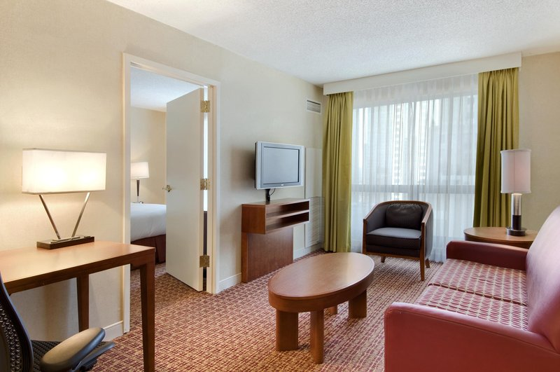 Hilton Suites Chicago/Magnificent Mile Widok pokoju