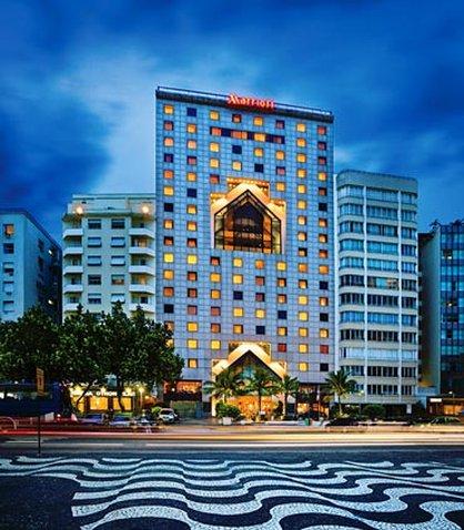 JW Marriott Hotel Rio de Janeiro Vue extérieure