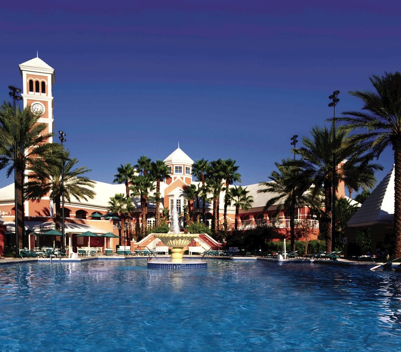 Hilton Grand Vacations Club at SeaWorld International Ctr. Pohled zvenku