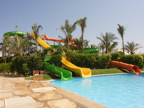 فندق ذا ثري كورنرز ريحانا - Pool Tropical Slides