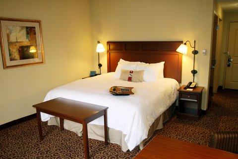 Hampton Inn - Suites Murray - King Guestroom