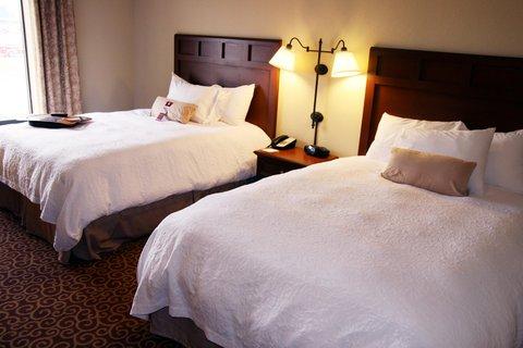 Hampton Inn - Suites Murray - Two Queen Beds Guestroom