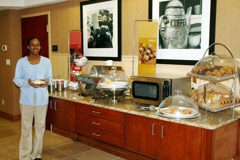 Hampton Inn - Suites Murray - Breakfast Hostess
