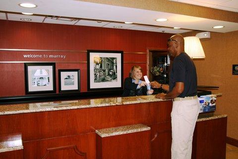 Hampton Inn - Suites Murray -  Front Desk