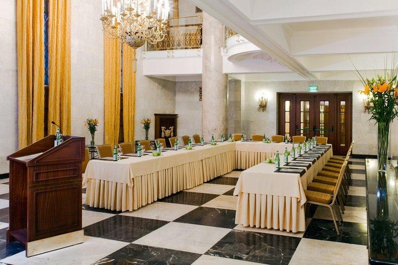 Hilton Moscow Leningradskaya 会议厅