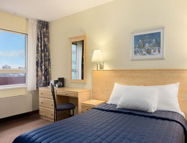 Hotel Travelodge Montreal Centre 客房视图