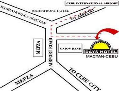 Days Hotel Cebu Airport - Area Map