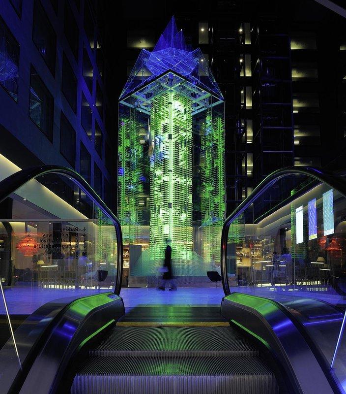 Radisson Blu Hotel, Zurich Airport Előcsarnok