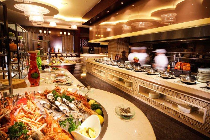 Crowne Plaza Beijing Zhongguancun Ravintolat