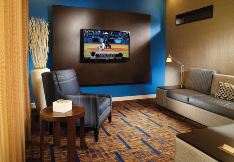 Courtyard by Marriott - Atlanta Executive Park/Emory - Theater Lounge