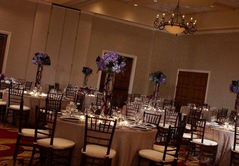 Renaissance Tampa International Plaza Hotel - Costa Del Sol Ballroom   Wedding Setup