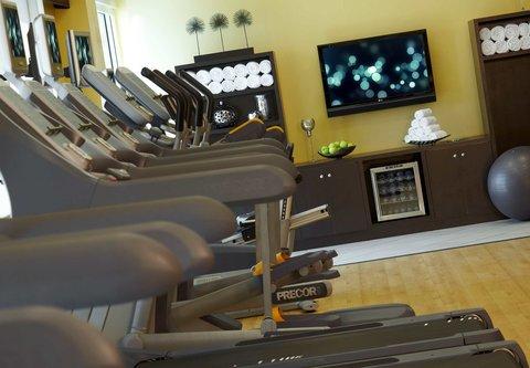 Renaissance Tampa International Plaza Hotel - Fitness Center- Treadmills