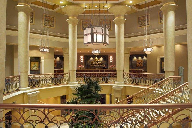 Hilton Grand Vacations Club on the Las Vegas Strip Lobby