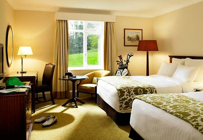 Hollins Hall Marriott Hotel & Country Club 客房视图