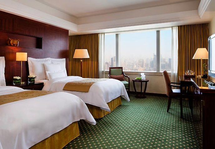 JW Marriott Shanghai at Tomorrow Square Вид в номере