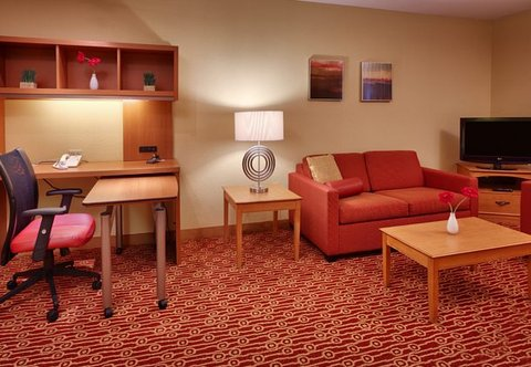 TownePlace Suites Albuquerque Airport - Two-Bedroom Suite Living Area