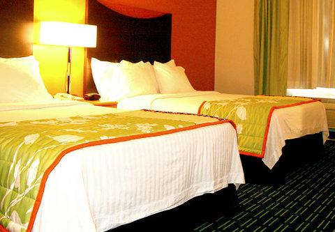 Fairfield Inn & Suites Billings - Queen Queen Guest Room