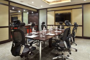 The exclusive club board room