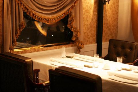 ذه لوكس مانور - Private Dining Room  Cabin