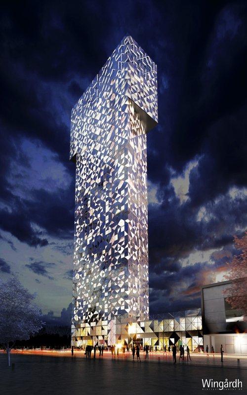 Scandic Victoria Tower Kilátás a szabadba