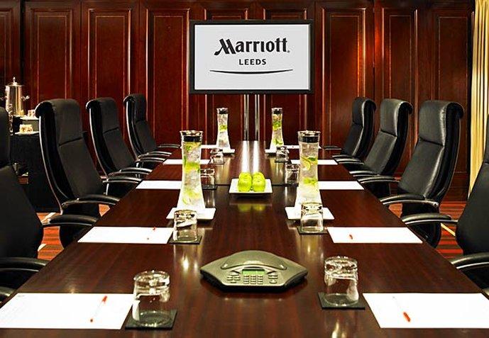 Marriott Leeds Hotel Meeting room
