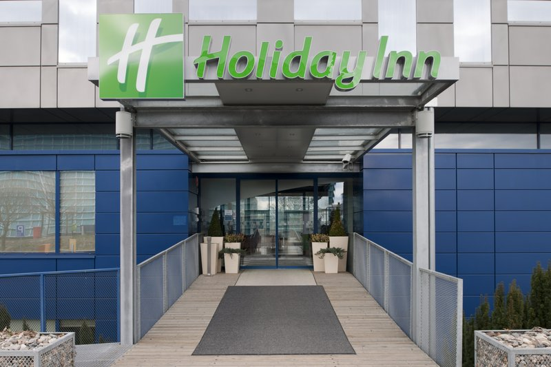 Holiday Inn Prague Airport Set udefra