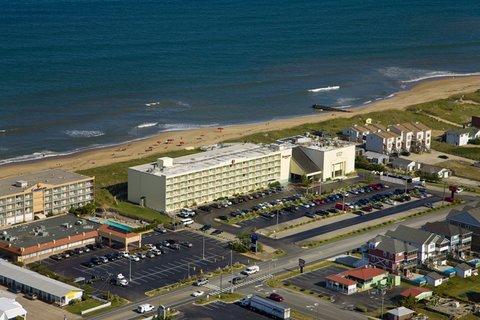 Ramada Plaza Nags Head Oceanfront - Ramada Aerial