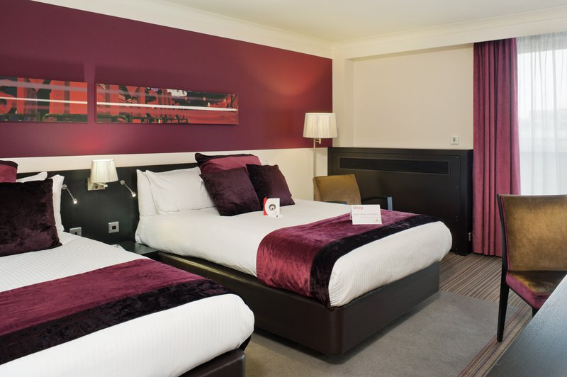 Crowne Plaza Hotel Birmingham City Centre 客房视图