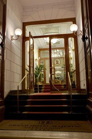 Grandhtl Majestic Gia Baglioni - Entrance