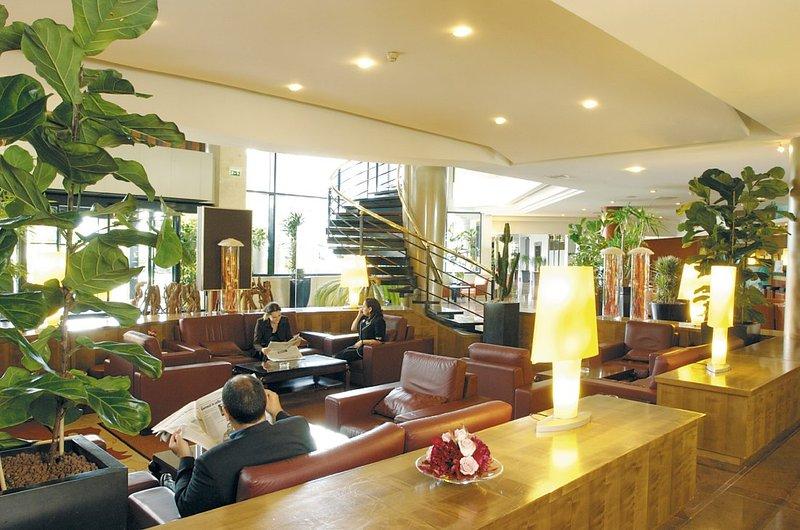 Radisson Blu Hotel, Paris Charles De Gaulle Airport Lobby