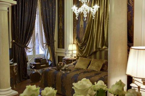 Grandhtl Majestic Gia Baglioni - Junior Suite Detail