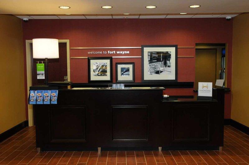 Hampton Inn Ft. Wayne/Dupont Road Lobby