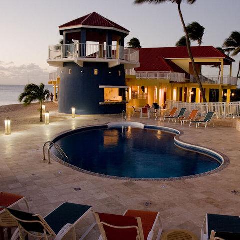 The Lighthouse Bay Resort Barbuda - Night Pool