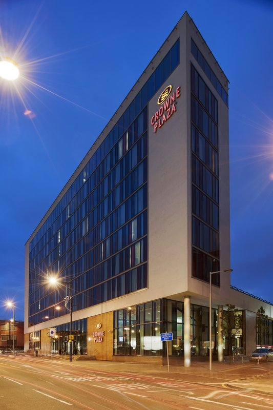 Crowne Plaza Hotel Manchester City Centre Вид снаружи