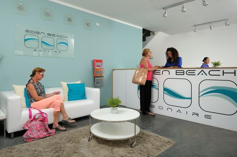 Eden Beach Resort - Bonaire - lobby Eden Beach Resort