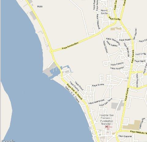 Eden Beach Resort - Bonaire - On the map