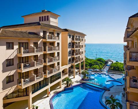 Jurere Beach Village Hotel - Pool view