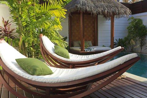 Velassaru Maldives - Pool Villa Patio