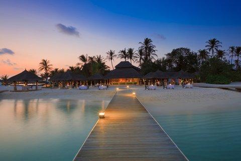 Velassaru Maldives - Sand Restaurant