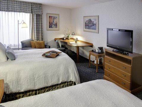 Hampton Inn Danbury - Two Double Beds