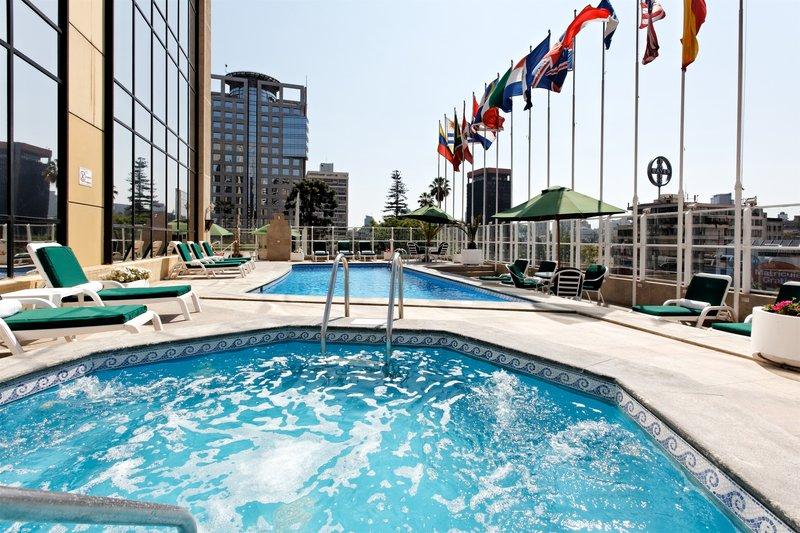 Crowne Plaza Hotel Santiago Piscine
