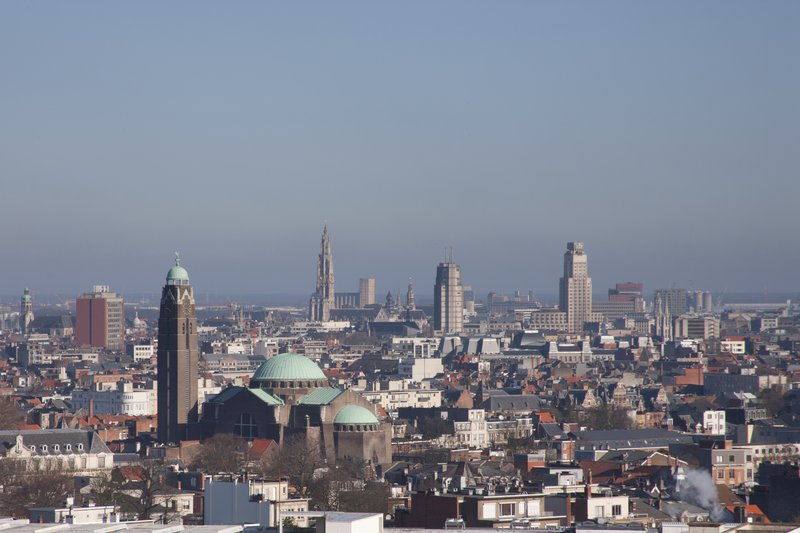 Crowne Plaza Hotel Antwerp 外景