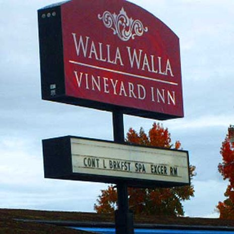Walla Faces Inns at Historic Downtown - Walla Walla, WA