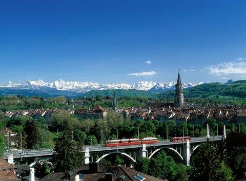 Hotel Allegro Bern - View over Bern